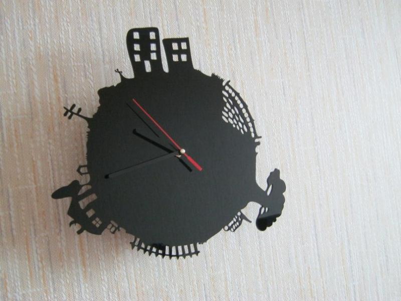 Лазерные часы своими руками фото