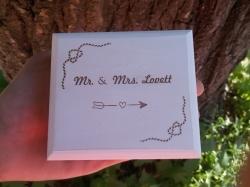 Шкатулка на свадьбу