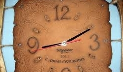 Нанесение циферблата на часы