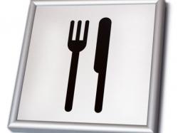 Табличка офисная из ПВХ 3 мм,