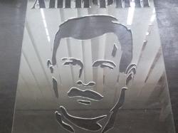 Трафарет для символики политической партии
