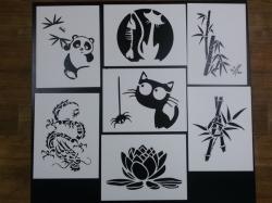 Трафареты для творчества